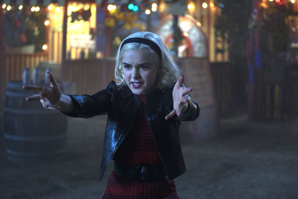 Kiernan Shipka Clears Up A Big Chilling Adventures of Sabrina/Riverdale Crossover Mystery