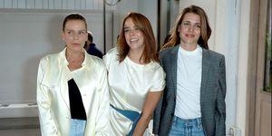 Estefanía de Mónaco, Pauline Ducruet y Carlota Casiraghi