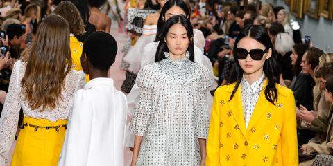 11285cf553467 ... New York Fashion Week. Kate! Karen! Gemma! DYING. By Faran Krentcil · carolina  herrera ss19