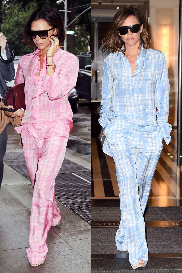 Gigi Hadid in pajamas as street style | Pajama fashion