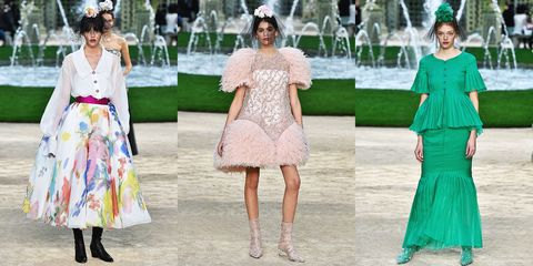1e0f79c077d Chanel Spring 2018 Couture Runway Show - Chanel Couture Fashion Week ...