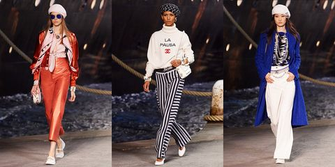 fffe08a3 88 Looks From Chanel Cruise 2018 Show – Chanel Cruise 2018 Runway
