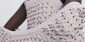 chaqueta punto perlas top punto barato zara
