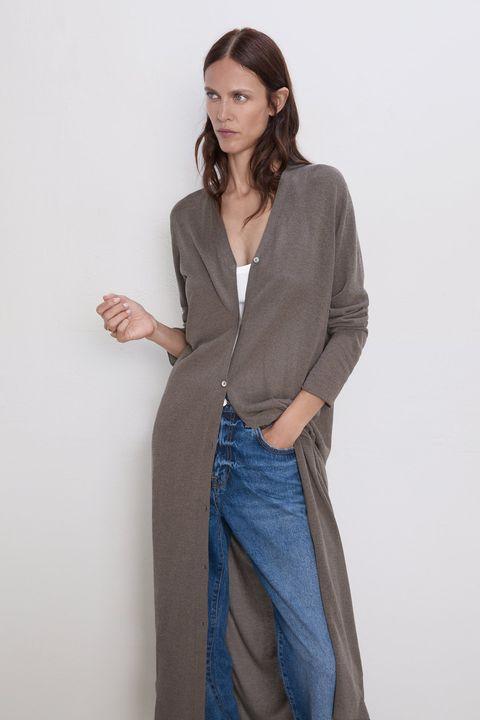 numerosos en variedad online para la venta clásico Vestido largo y chaqueta de Zara-Zara ropa de tendencia otoño