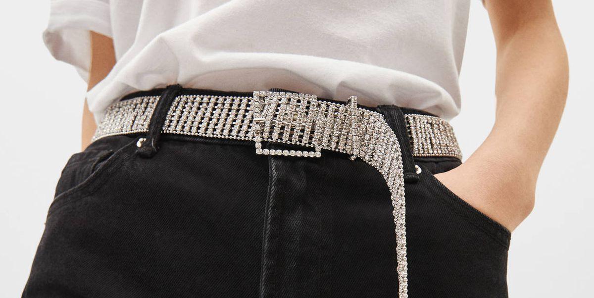 migliore collezione up-to-date styling in vendita El cinturón de 'strass' de las 'influencers' ya está en Bershka
