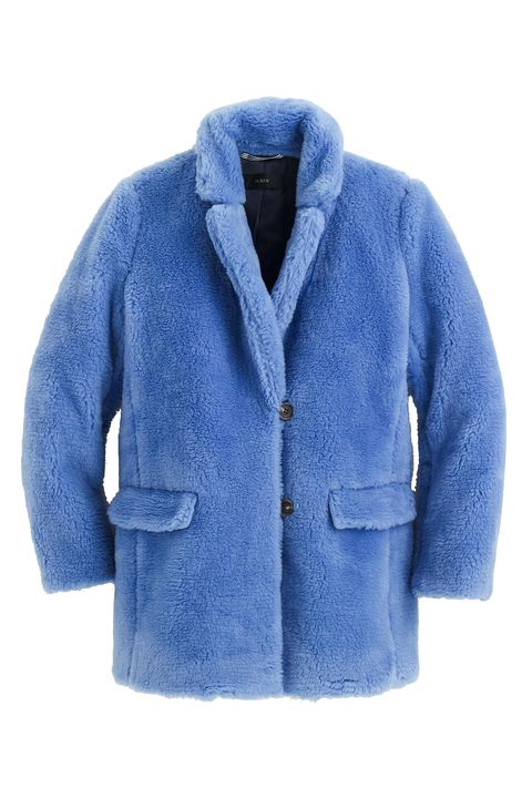 Clothing, Outerwear, Blue, Jacket, Sleeve, Cobalt blue, Electric blue, Coat, Top, Denim,