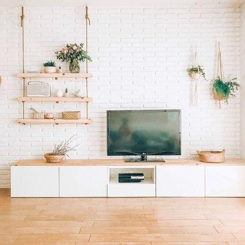 Trucos Bonitos Para Esconder Los Cables De La Tv Y Demás