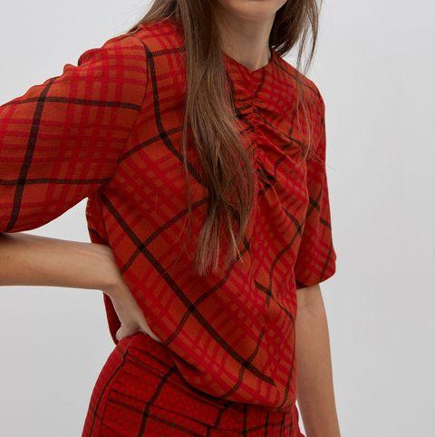 falda midi top conjunto barato sfera