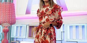 falda top primark television presnetadora flora gonzalez