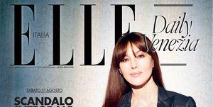 Monica Bellucci news: a Venezia 2019 con Irréversible e sulla copertina di Elle Daily N.4
