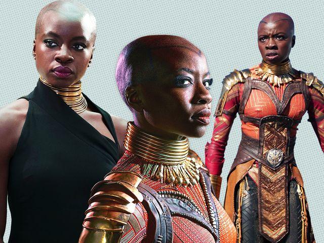 Black Panther Star Danai Gurira Interview Okoye