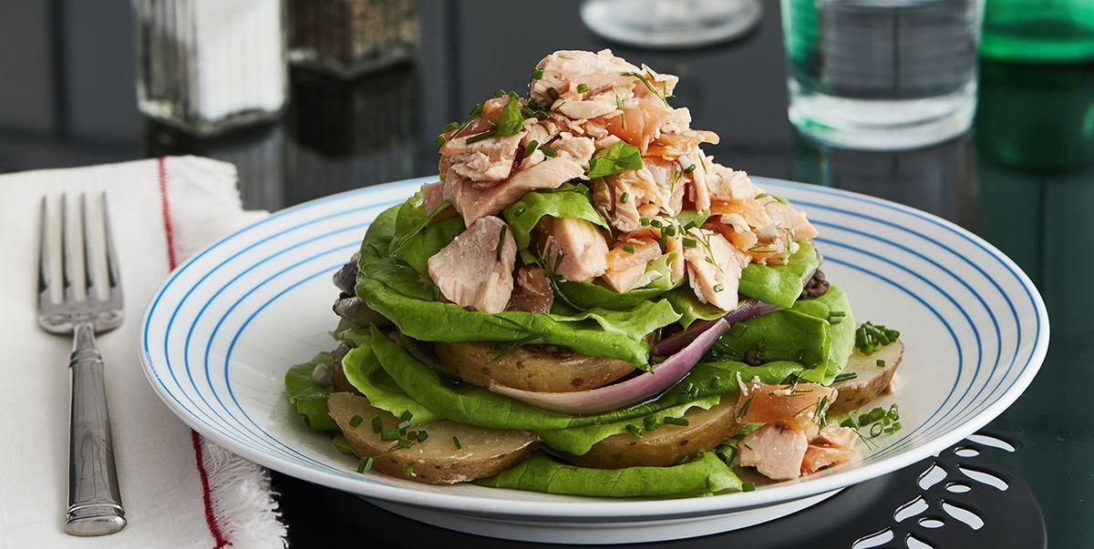 Daniel Boulud Spring Recipes Confit Salmon Recipe
