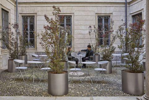 A palazzo morando l 39 outdoor bar e il ristorante dell 39 elle for Elle decor hotel palazzo morando