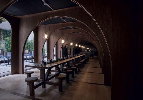 A Palazzo Morando L Outdoor Bar E Il Ristorante Dell Elle Decor Grand