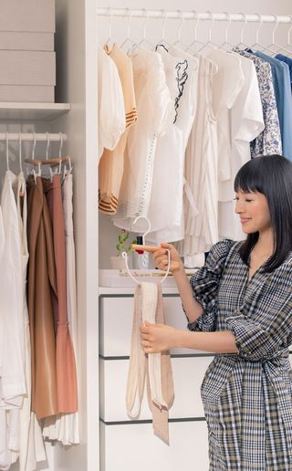 marie kondo container store new collection of hangers