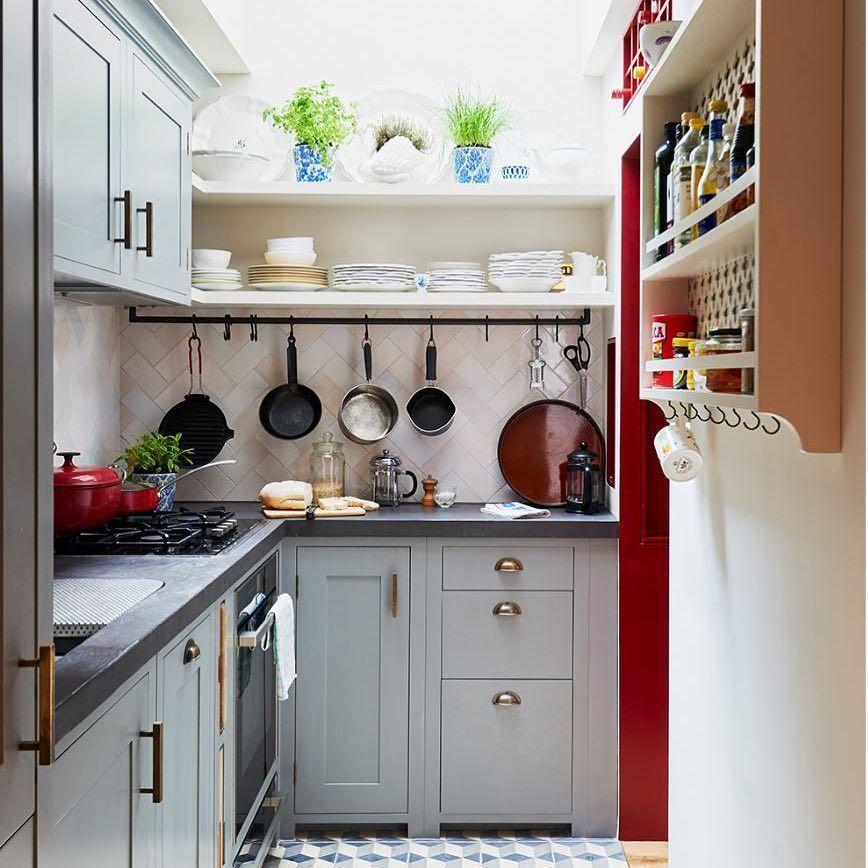 Decorar una cocina pequeña: soluciones para sacarle partido
