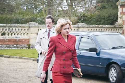 the crown s4 picture shows princess diana emma corrin filming location somerleyton hall