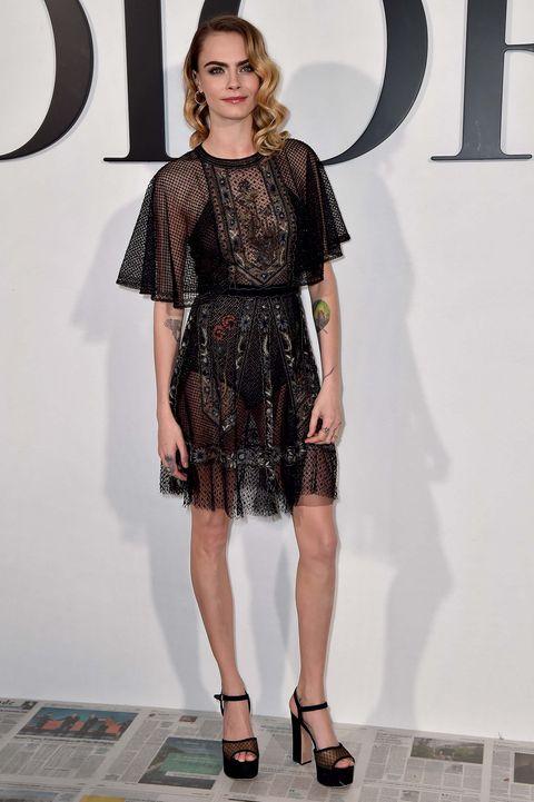 Dior front row Paris Fashion Week