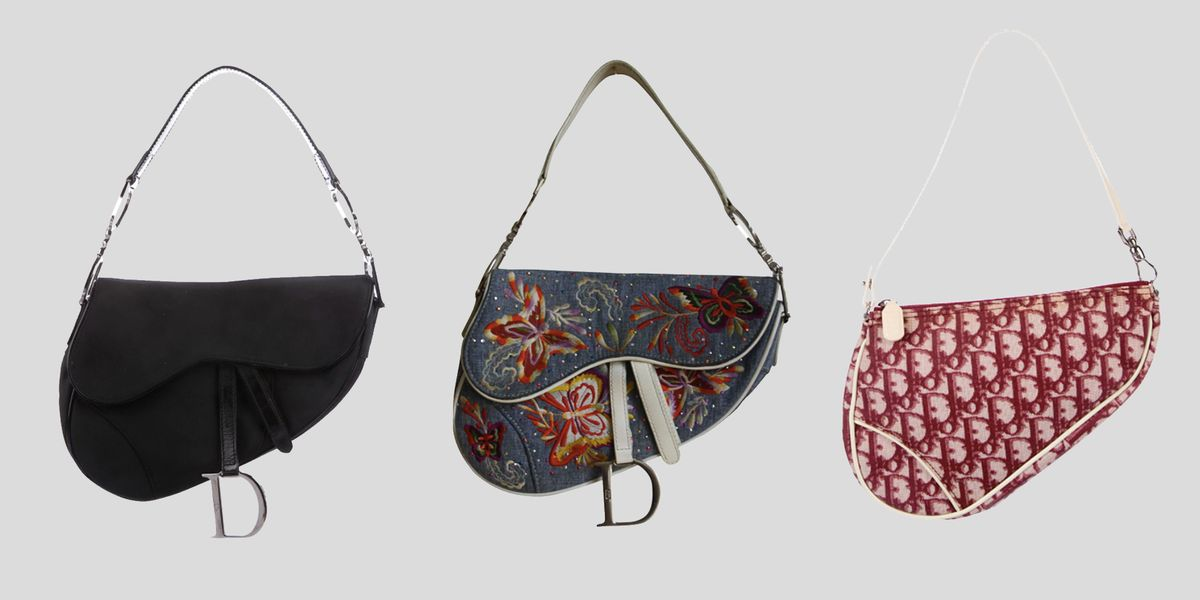 d8adc15cc27 5 Vintage Dior Saddle Bags to Buy Right Now - Fashion Dawn
