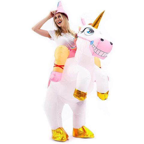 ideas disfraces halloween mujeres unicornio