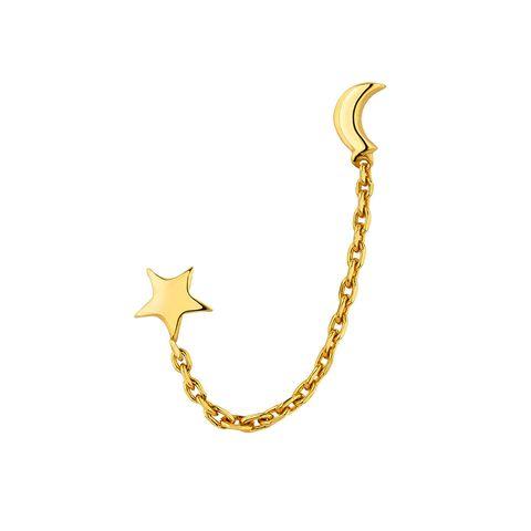 los mejores ear cuffs pendientes tendencia estrella y luna aristocrazy