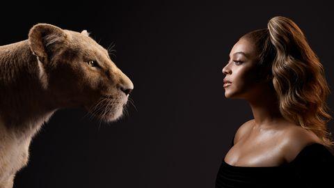 El rey leon Beyonce elle