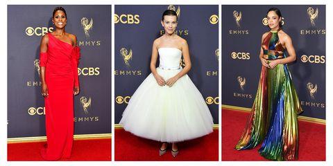 19903342ab6 Best Red Carpet Looks From Emmy Awards 2017 - Celebrity Emmy Dresses