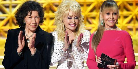 Dolly Parton  Lily Tomlin and Jane Fonda
