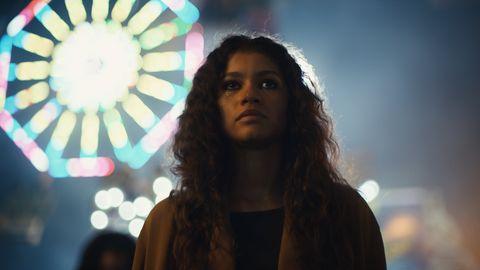 Euphoria HBO Zendaya elle