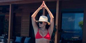 Eva Longoria bikini para bajitas