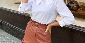 falda corta plisada zara viral look instagram tendencias