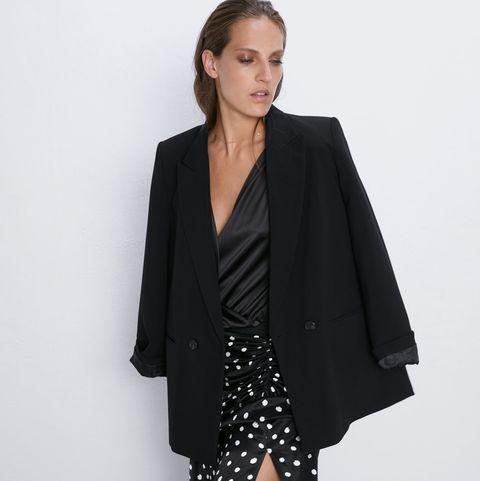 boutique de salida diseño superior ofertas exclusivas La falda larga de lunares de Zara-Look entretiempo falda larga
