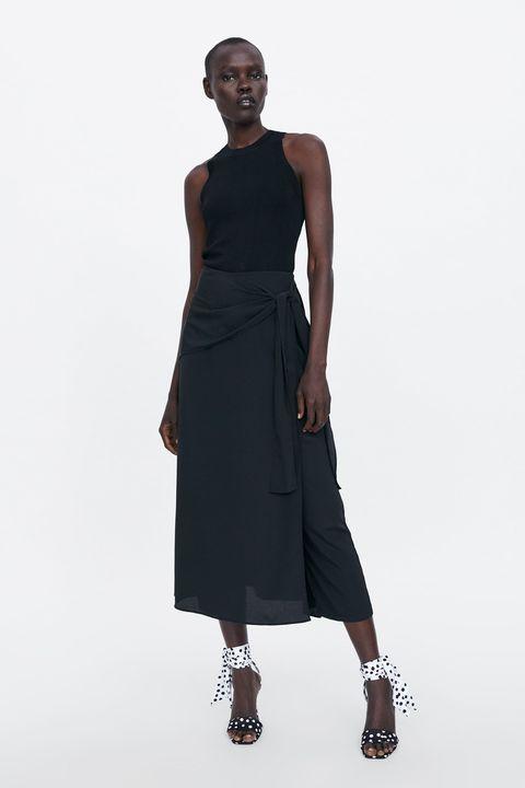 909becd2b La falda larga pantalón de Zara que está arrasando en ventas en su ...