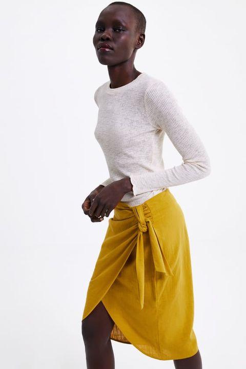 e3316bf01 Las 10 faldas pareo de Zara, Oysho, Mango y Uterqüe que mejor ...