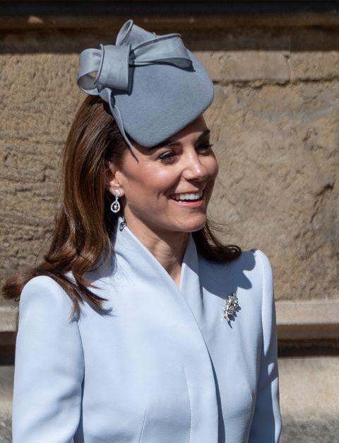 3818320dab8a La familia real británica ha ido a la tradicional Misa de Pascua