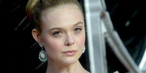 "Elle Fanning at the""Maleficent: Mistress Of Evil"" European Premiere"