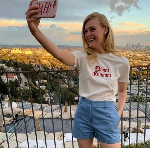 T-shirt, Blond, Beauty, Yellow, Shorts, Selfie, Photography, Fun, Jeans, Summer,