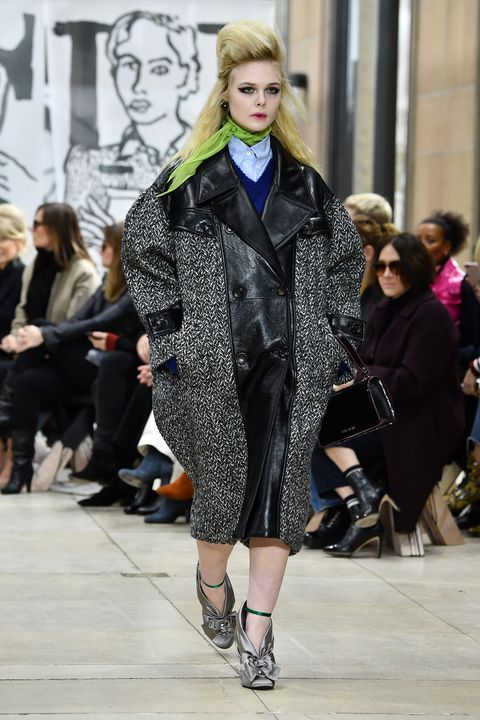453ad1d7a3bf Elle Fanning Just Opened the Miu Miu Show at PFW