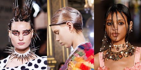 2017 hairstyles haircuts and hair colors celebrity hairstyles fashion week ss18 hair urmus Image collections