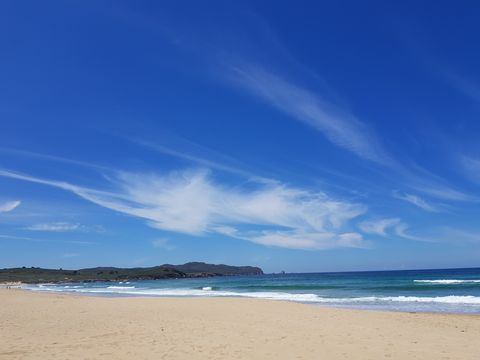 Sky, Body of water, Beach, Sea, Blue, Ocean, Cloud, Horizon, Coast, Water,