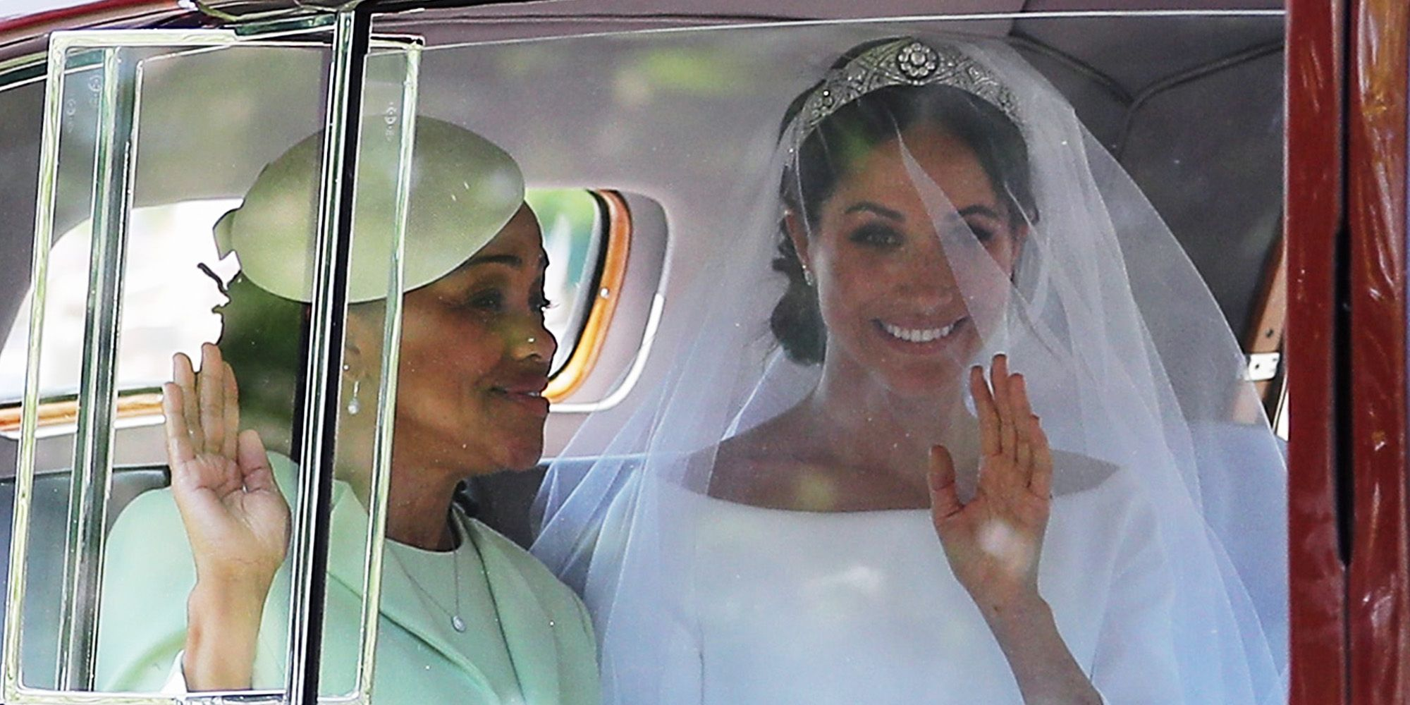 Meghan Markle Is Wearing Queen Mary S Diamond Bandeau Tiara For The Royal Wedding