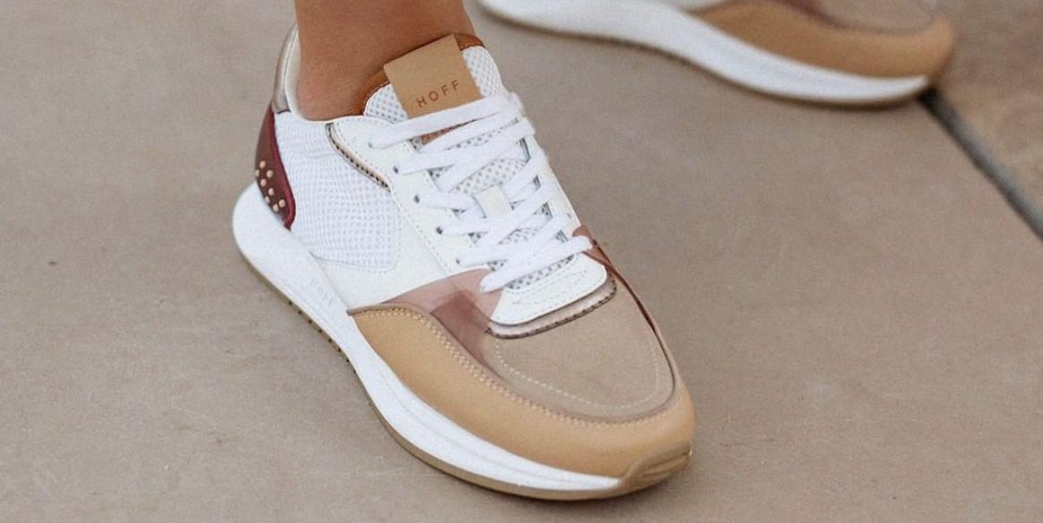 Amaia Salamanca se apunta a las Hoff, las zapatillas de marca española 'low' que están triunfando - Elle