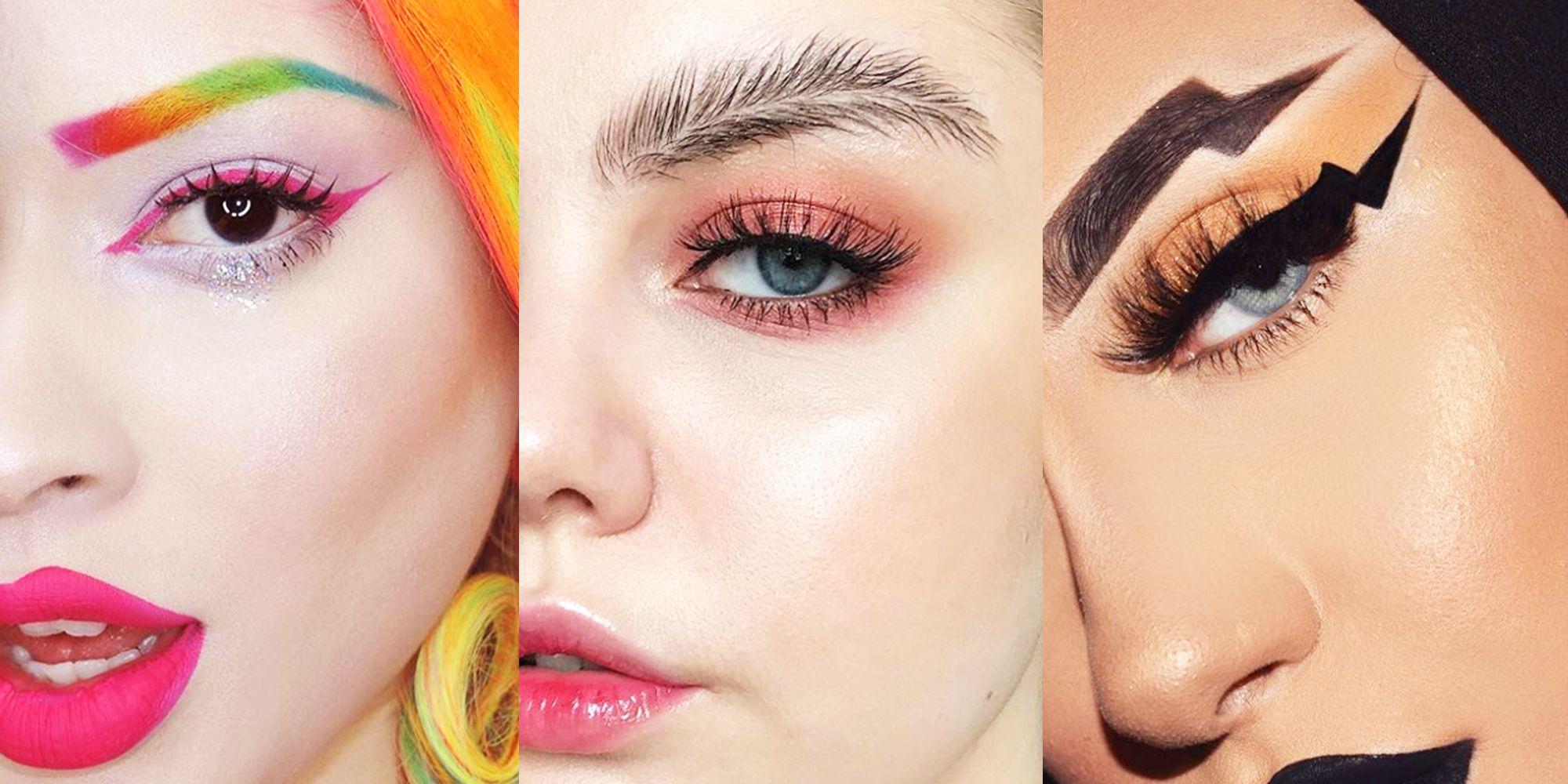 The Strangest Eyebrow Trends Of 2017