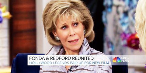 Jane Fonda on Megyn Kelly