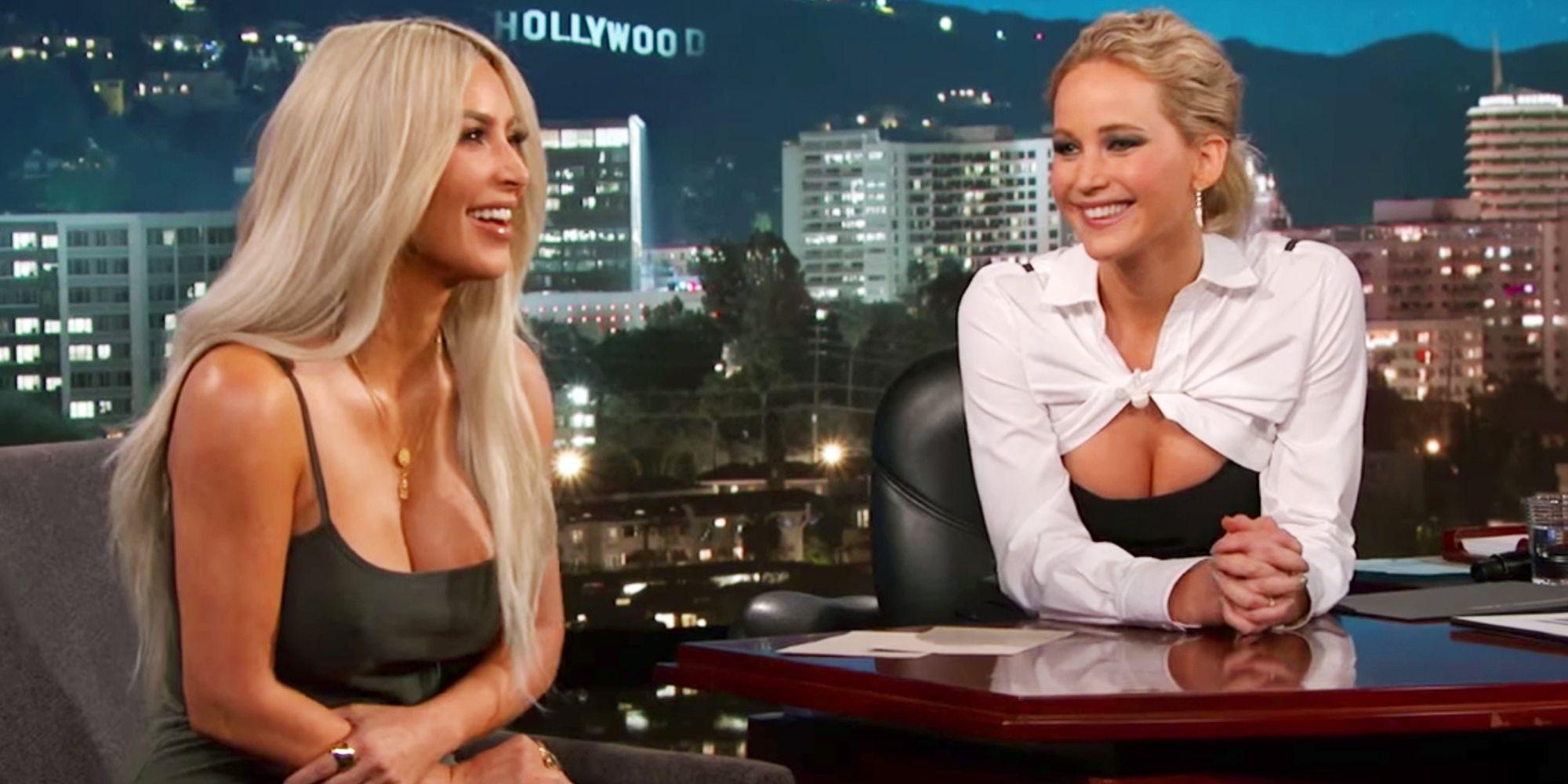Jennifer Lawrence Kim Kardashian Interview