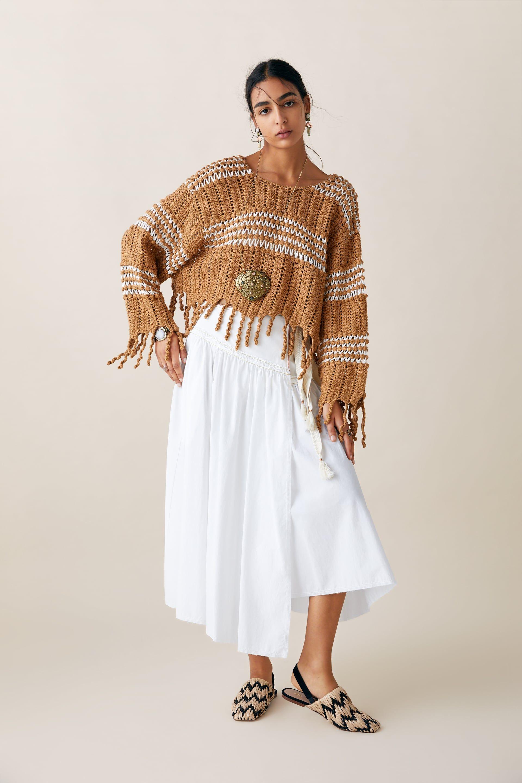 10 prendas con flecos de Zara para seguir la tendencia de la