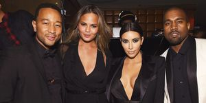 Kanye West and John Legend Text