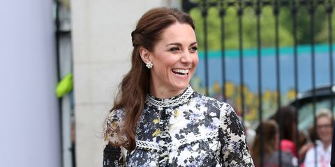 El Vestido De Erdem De Kate Middleton Comparte Con La