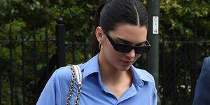 Kendall Jener look shorts Wimbledon zapatillas blancas adidas continental Paula echevarría Alba Díaz