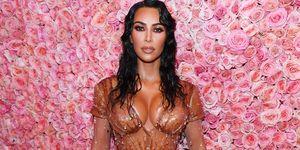 Kim Kardashian corsé gala MET 2019